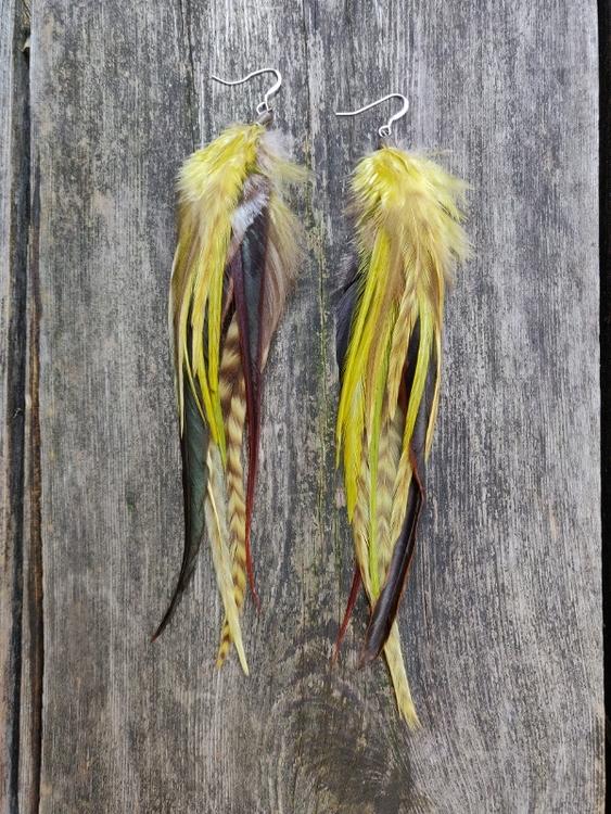 Fjäderörhängen Par #2045