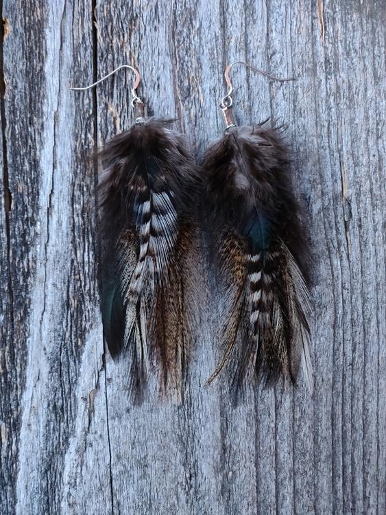 Fjäderörhängen Par #2050