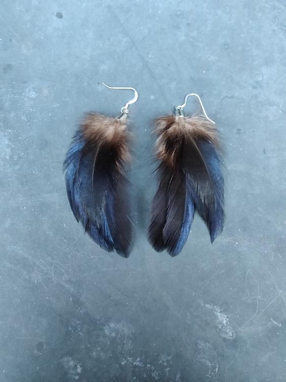 Fjäderörhängen Par #2051