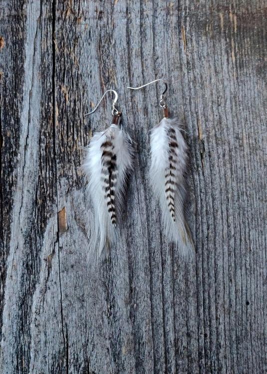 Fjäderörhängen Par #2053