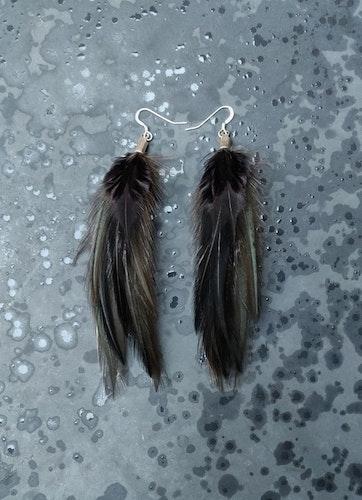 Fjäderörhängen Par #2063