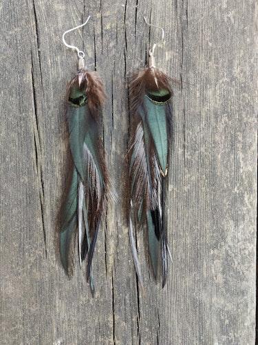Fjäderörhängen Par #2555