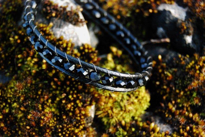 Coal Wrap Bracelet
