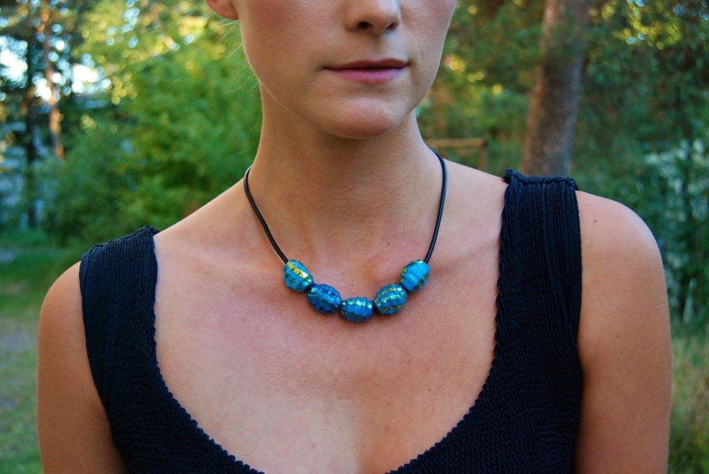 Five drops necklace
