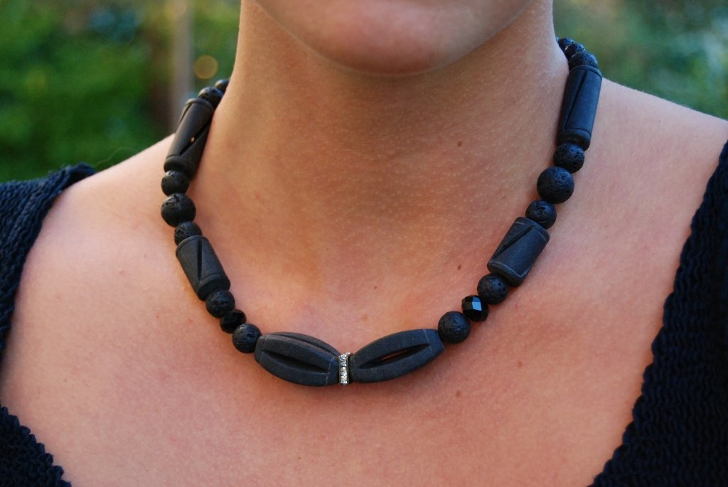 Black stone Bow