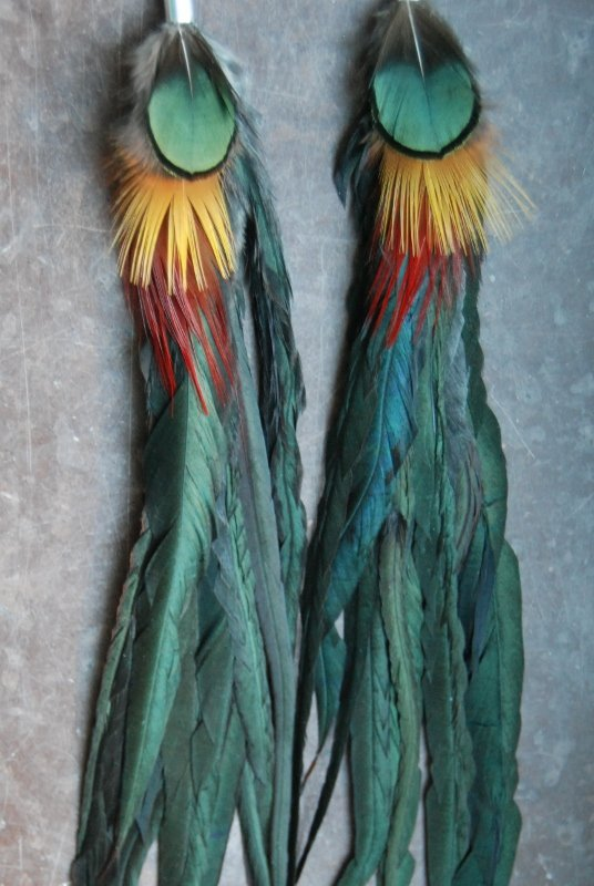 The Original Feather earrings