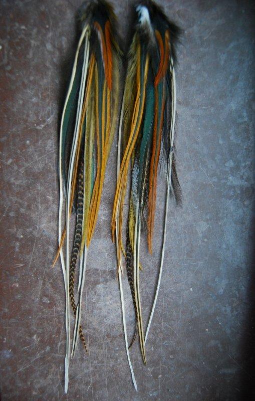 Dear Feather earrings