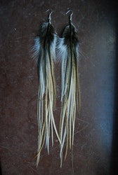 Sand Feather earrings