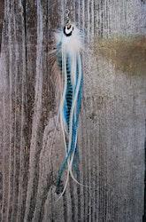 Frost Single Feather earrings