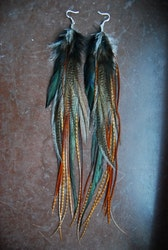 UH HUH HONEY Feather earrings