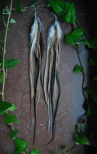 Dreamy Feather earrings