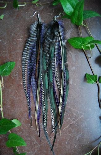 Kennen Feather earrings