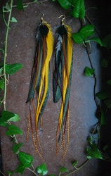 Sivir Feather earrings