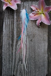 The sweetest thing single feather earring