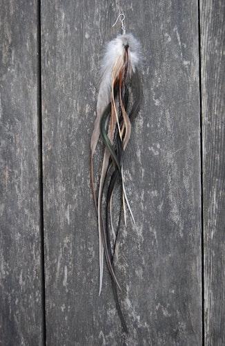 Dreamy Single feather earring