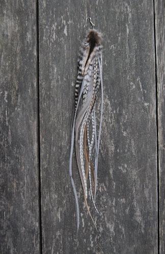 Well Hello Single feather earring