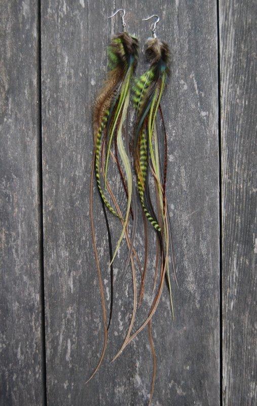 Hood Feather Earrings
