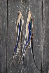 Mix Tape Feather Earrings