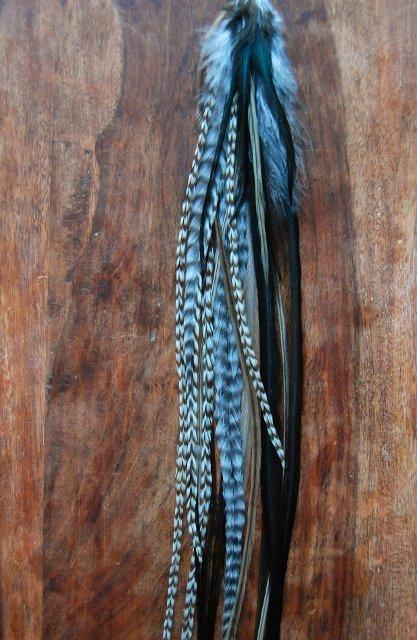 Lemur Single feather earring