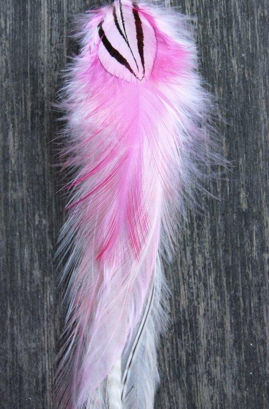 Lotus Single Feather earrings
