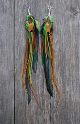 Forest Feathers single earring