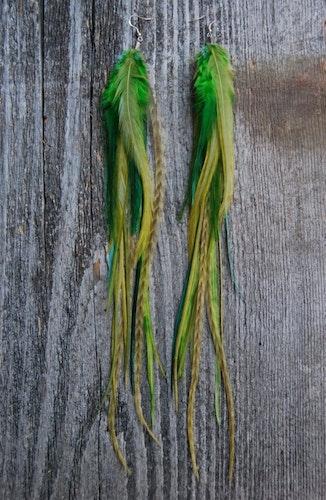 Beginnings Feathers earrings