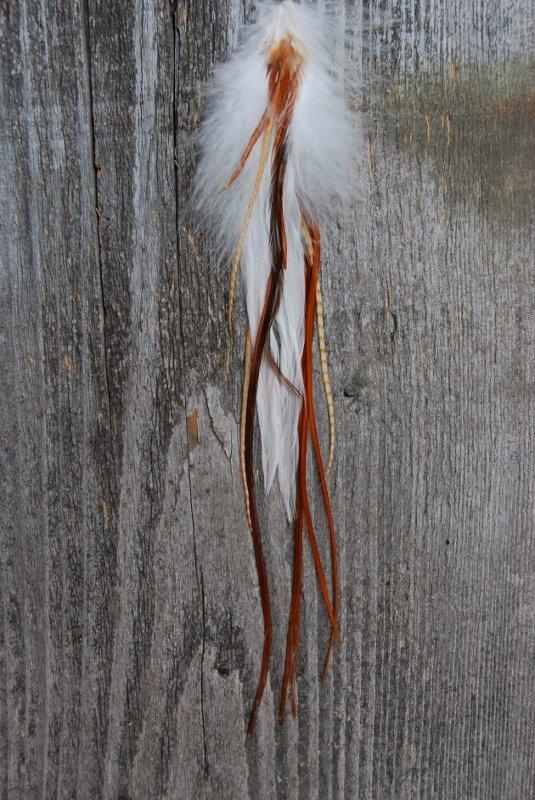 Mist Single Feather Earring