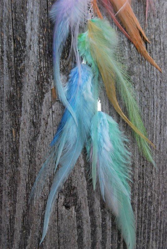 Unicorn Feather earring