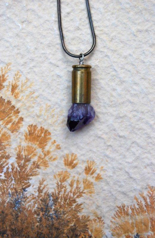 Amethyst Crystal bullet #1