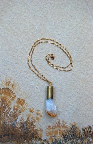 Citrine Crystal bullet #1