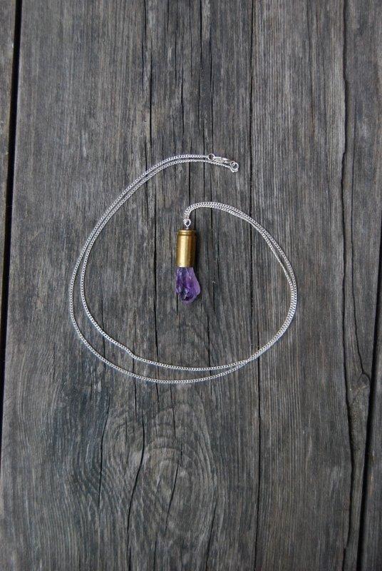 Amethyst crystal bullet #3