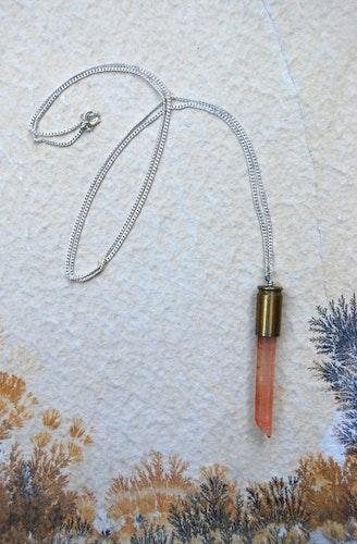 Lemurian quartz crystal bullet #1