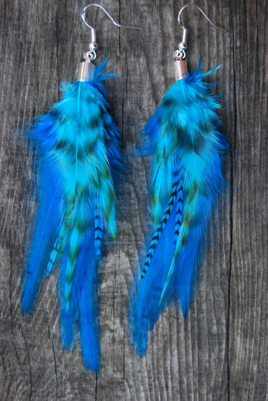 Dreaming Feather Earrings