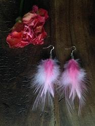 Fluffy Feather Earrings