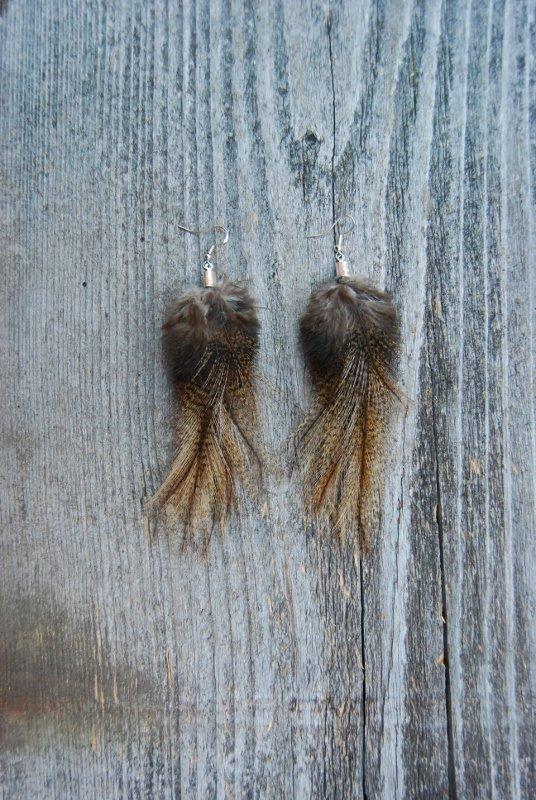 Fjäderörhängen Par #2141