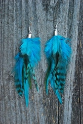 This must be heaven Feather Earrings