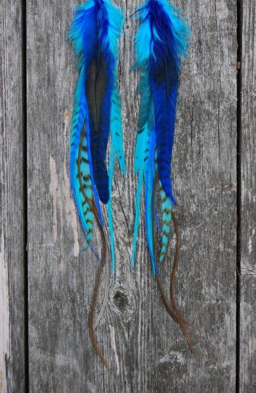 Joy Feather earrings