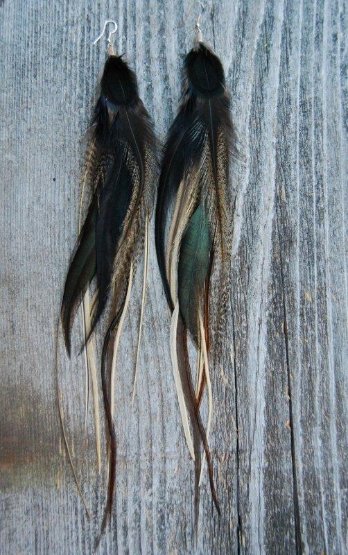 It's magic Feather earrings