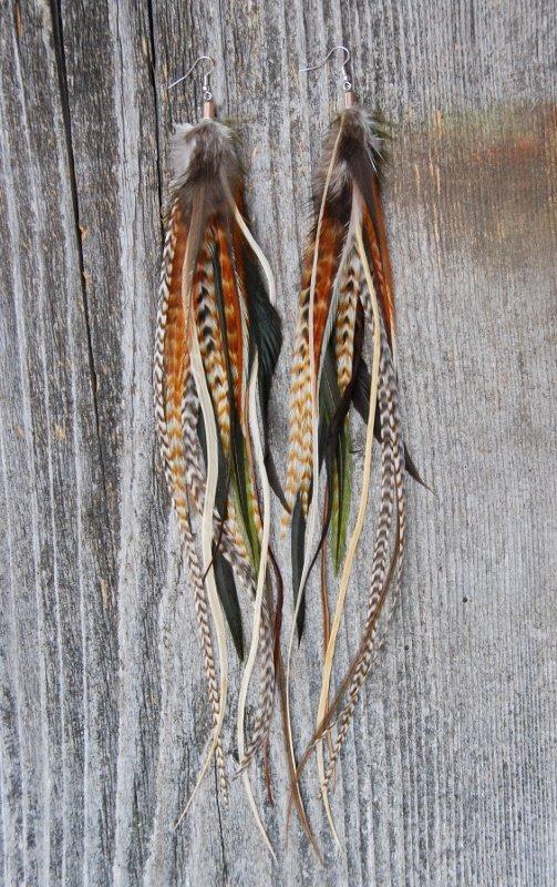 Dreamer Feather Earrings