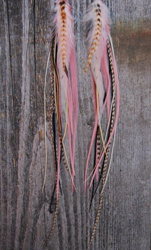 Sweetheart Feather earrings