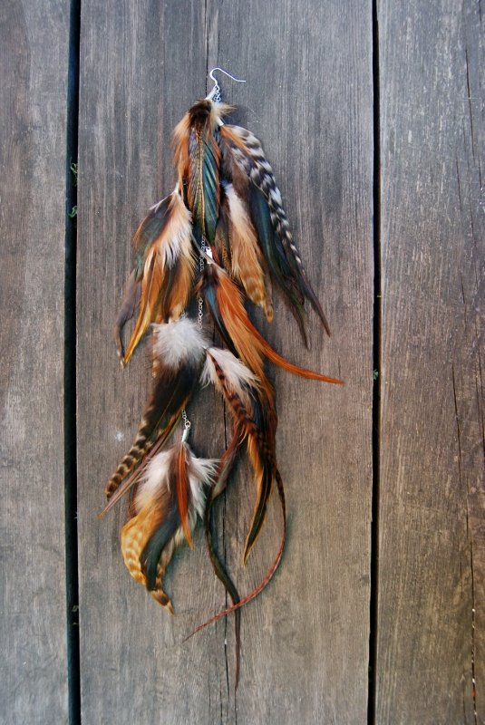 Nature #1 Feather earring