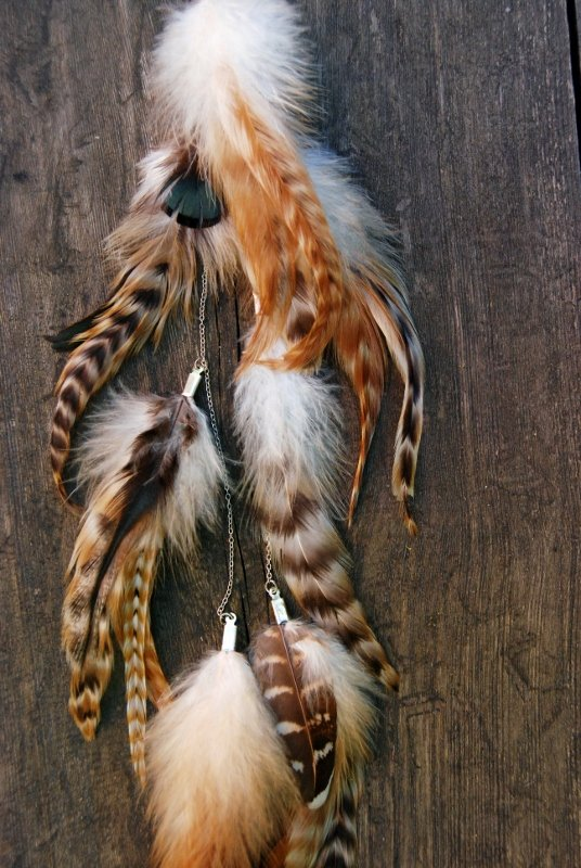 Nature #2 Feather earring