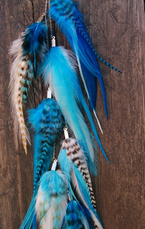 Easy Feather earring