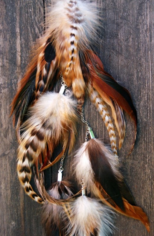 Nature #3 Feather earring