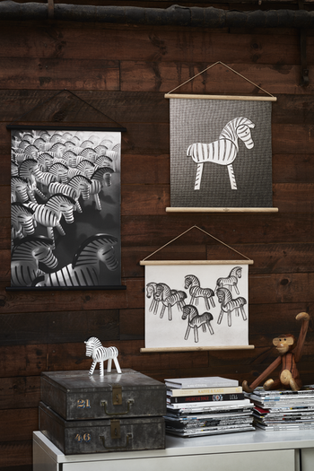 """Kay Bojesen """"Zebra"""" vepa i kanvas"""