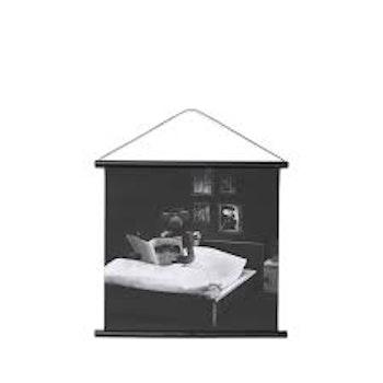 """Kay Bojesen """"Sängläsning"""" bild på canvasväv"""