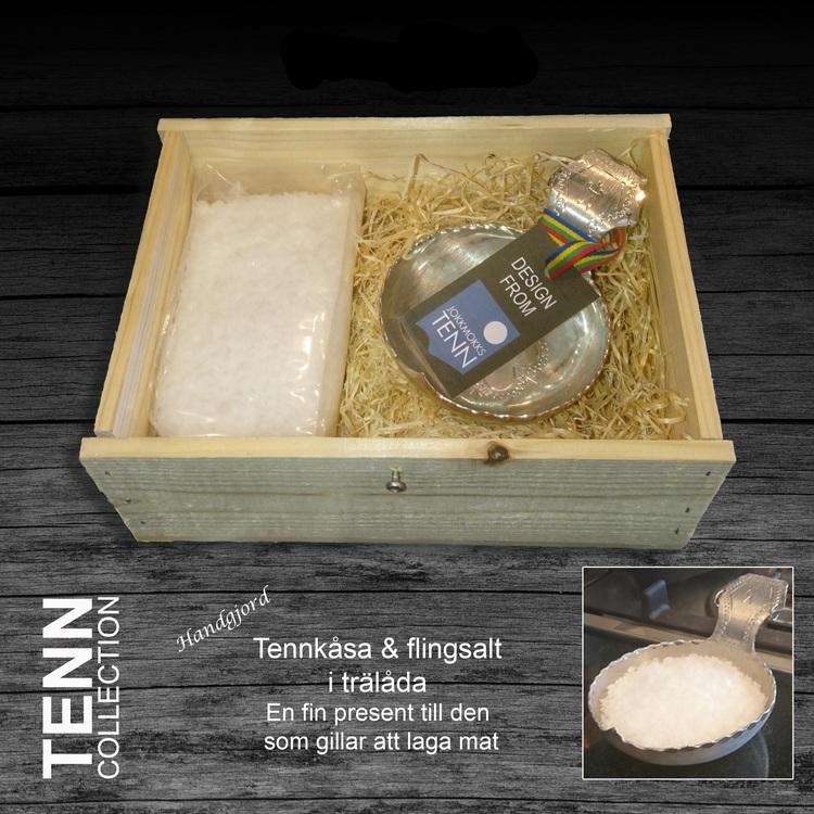 Saltkåsa från Jokkmokks tenn