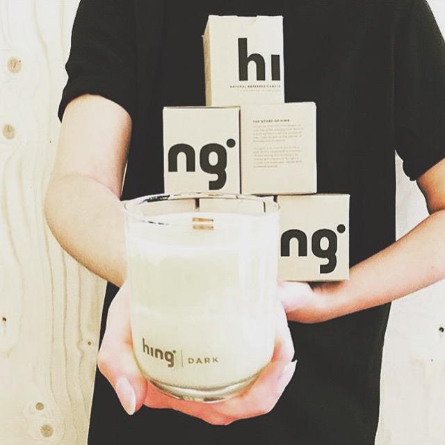 Hing-handgjorda doftljus-Greenhouse