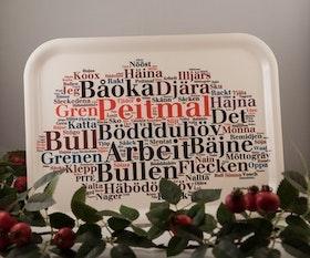 """Bricka """"Din stad-Piteå"""""""