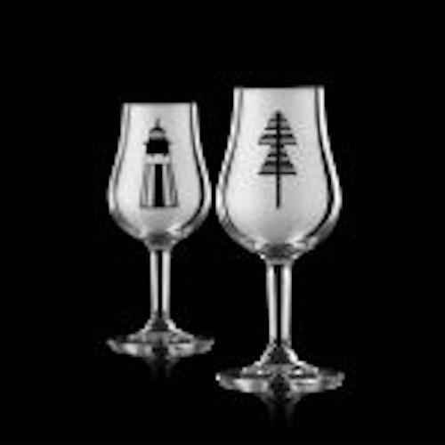 """Niklas Orginella """"Skärgård""""  2 st Whiskeyglas"""